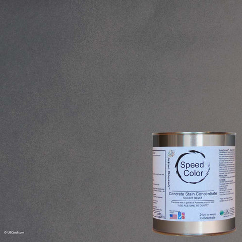 Speed Color - Charcoal - add color to concrete - gallon size