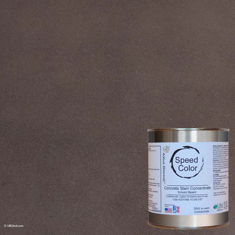 Speed Color - Esspresso - add color to concrete - gallon size