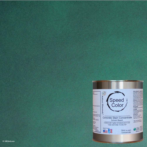 Speed Color - Emerald - add color to concrete - gallon size