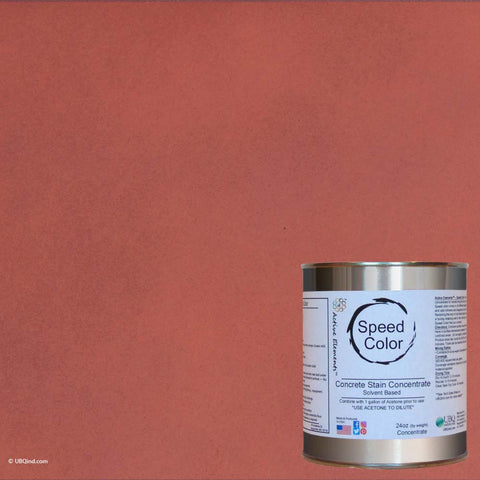 Speed Color - Adobe Fire - add color to concrete - gallon size