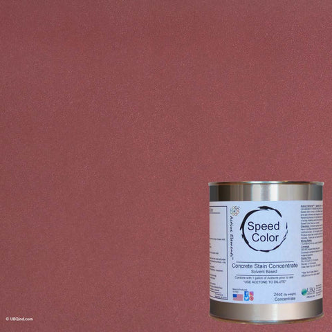 Speed Color - Red Brick - add color to concrete - gallon size