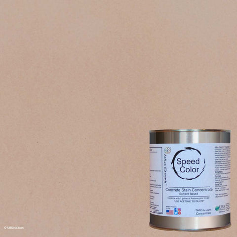 Speed Color - Cream - add color to concrete - gallon size