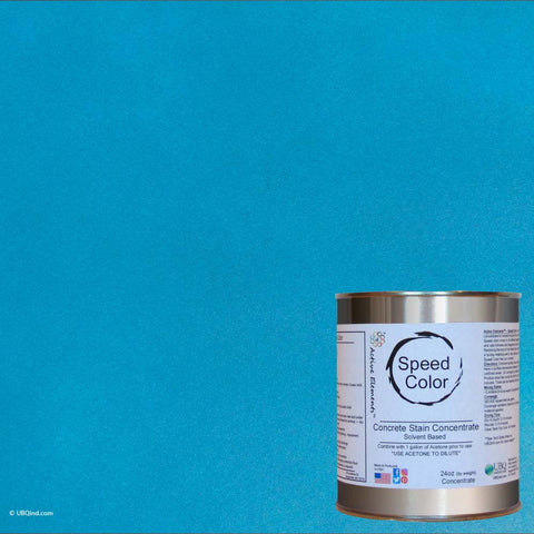 Speed Color - Ocean - add color to concrete - gallon size
