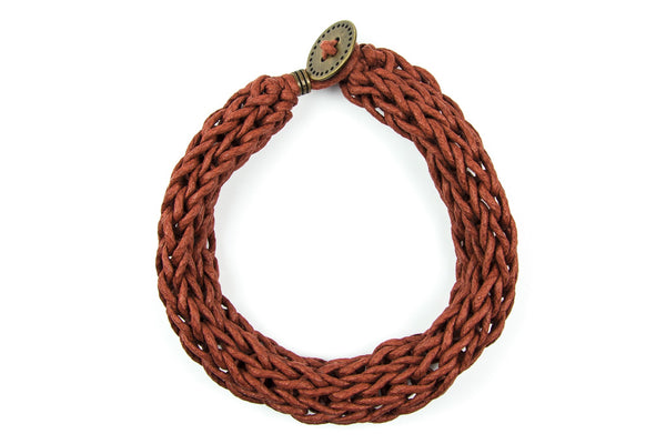 Toska knitted necklace - criopia