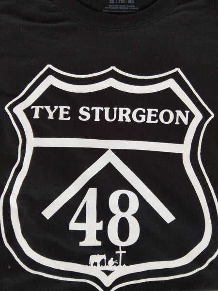 Highway Horses Tye Sturgeon Tshirt