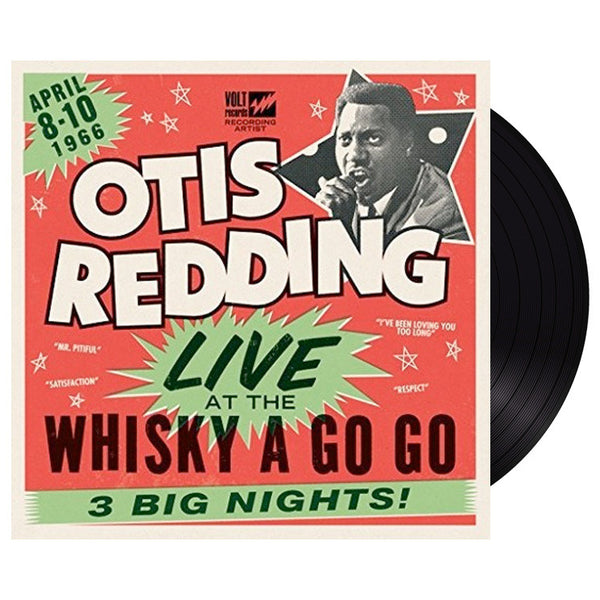 Otis Redding - Live At The Whisky-A-Go-Go - Double LP Black Vinyl