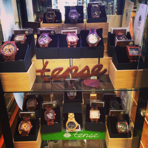A Timeless Treasure - Tense Wooden Watches-Locally made in Canada