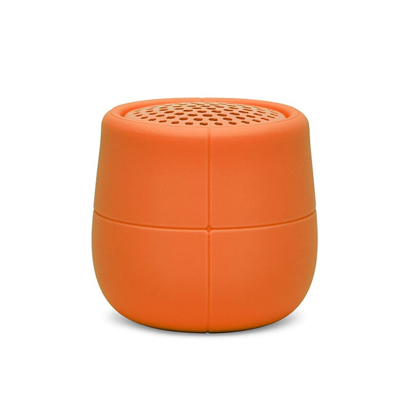 Lexon Mino X Orange Floating Bluetooth Speaker USB 3W Waterproof Portable