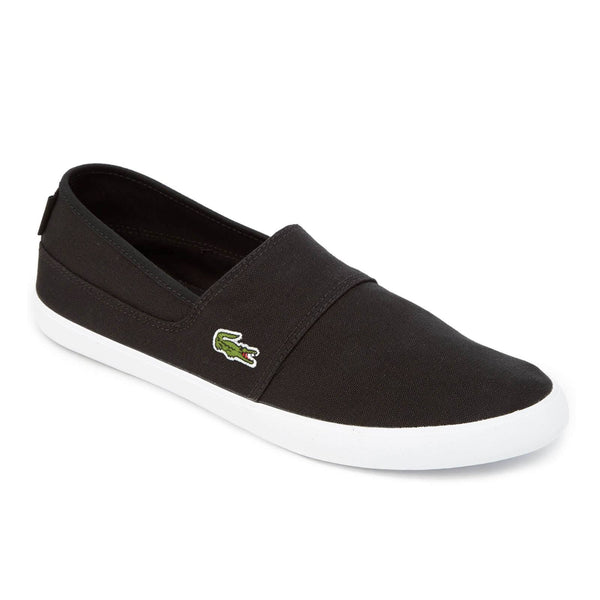 Lacoste Men's Canvas Slip on Marice Black