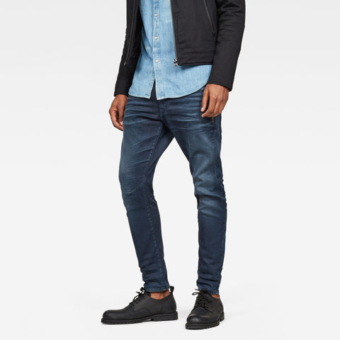 G-Star Raw Men's 3301 Slim Denim Worn in Lahar Jeans
