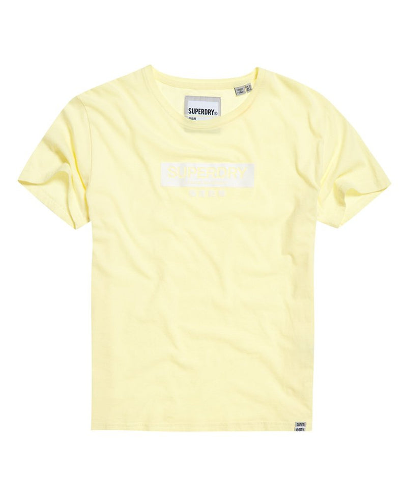 Superdry women's t-shirt yellow