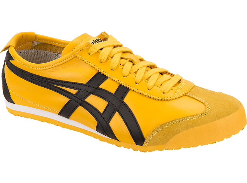 big sale 708f3 13ce9 Asics-Onitsuka Tiger Men's Running Shoes MEXICO 66 Yellow/Black