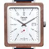 Tense BRUNSWICK Leather Men's Walnut Silver Watch