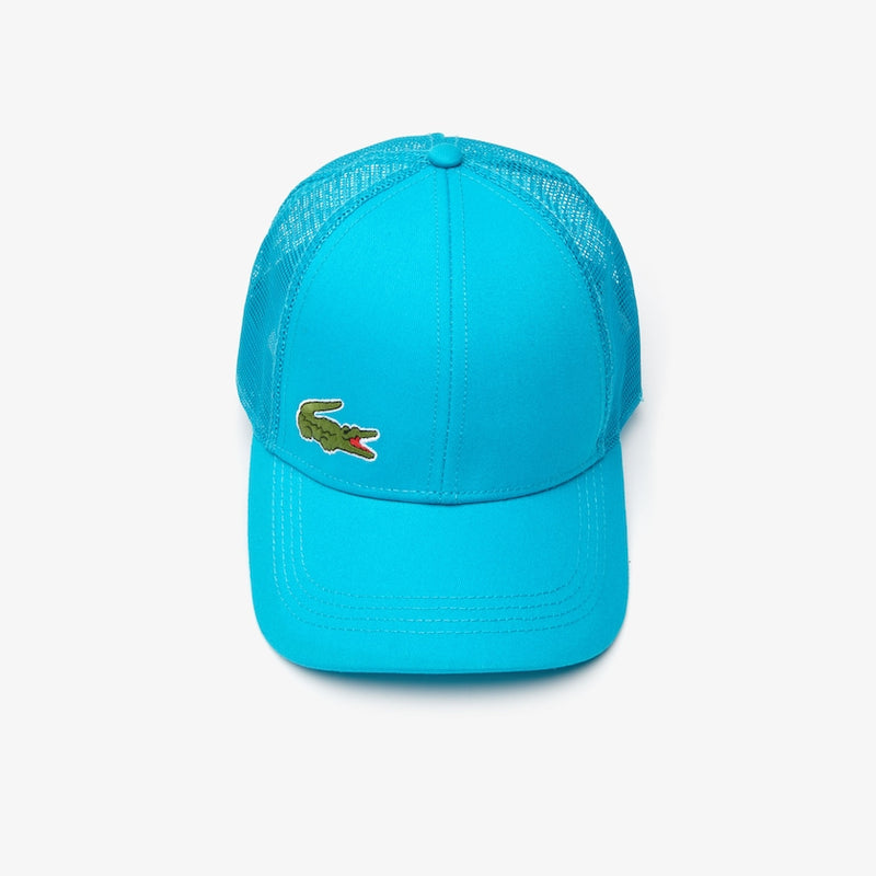 Lacoste Sport Men's Mesh Panel Cotton Cap turquoise