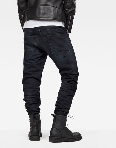 G-Star D-Staq 5-Pocket Tapered Denim Dark Aged Jeans