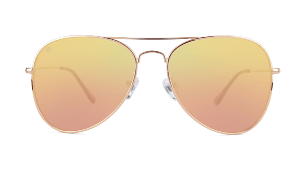 Unisex Sunglasses Mile Highs Rose Gold/Copper Polarized Aviator style