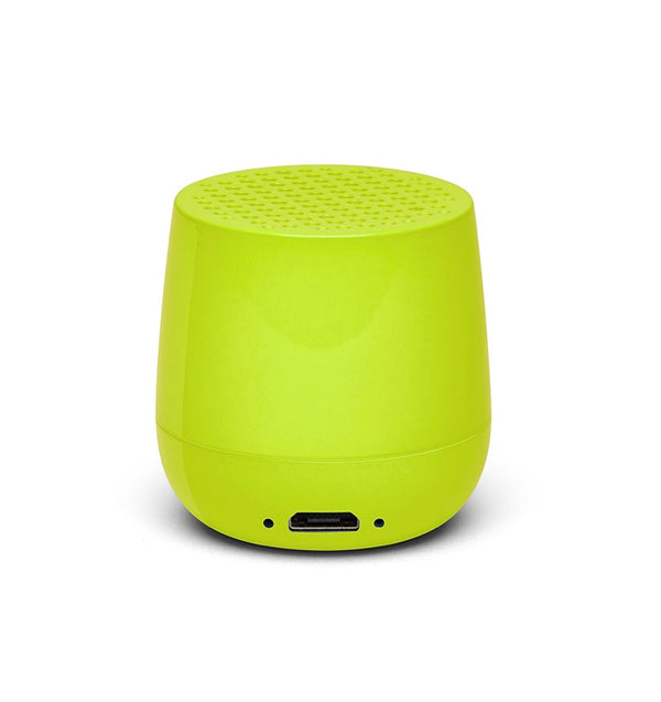 Mini Speaker Mino Glossy Neon Yellow 3W Bluetooth portable