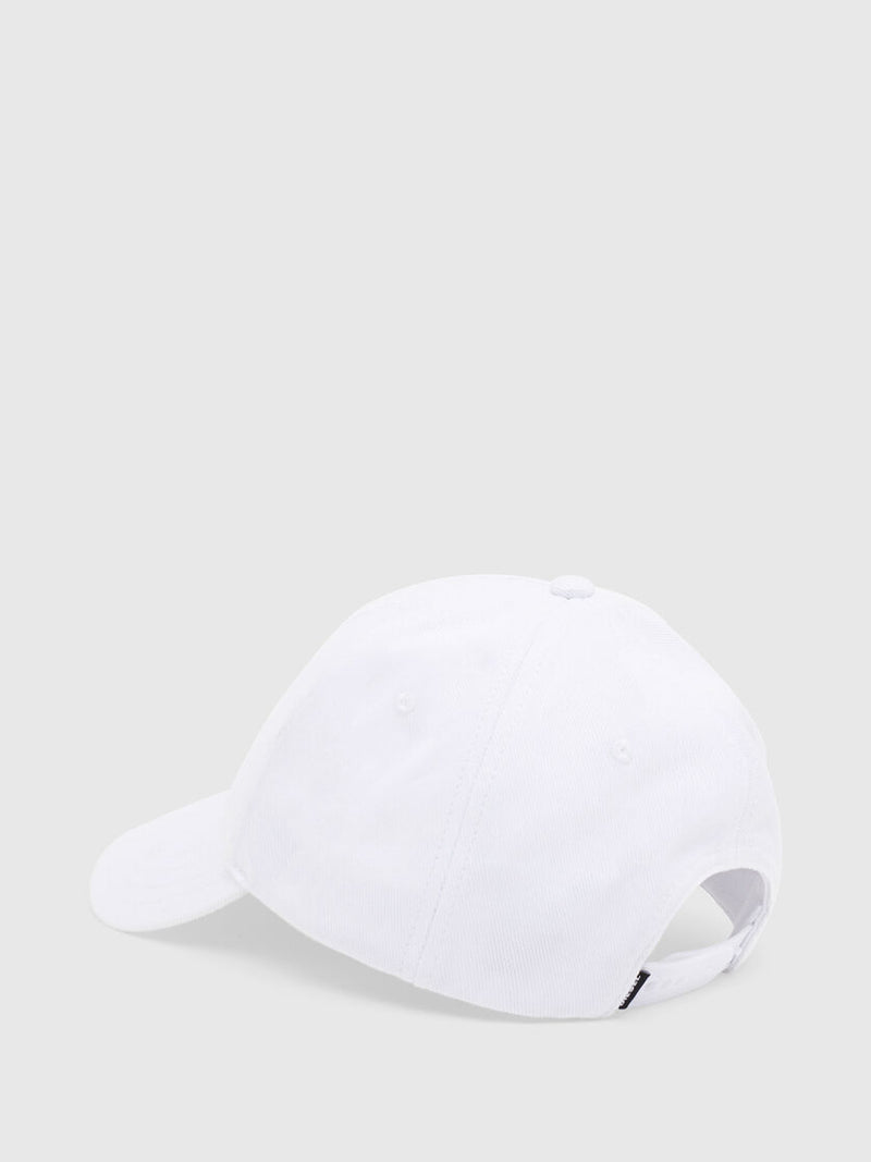 Men's cap-cuty white 6 panel baseball hat