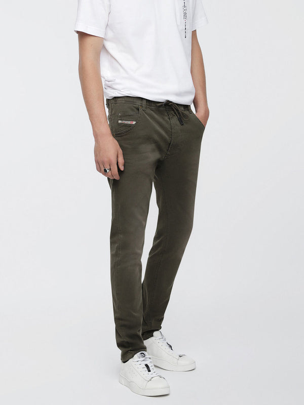 Diesel Men's JOGGJEANS Krooley-NE Green Denim Jeans