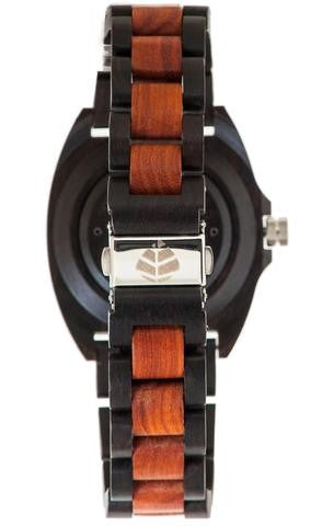 Tense Wooden Watch TRAIL Rosewood/Dark Sandalwood