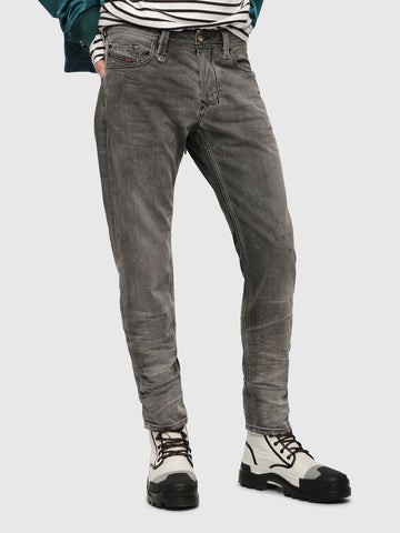G-Star Raw Men's Denim Airblaze 3D Skinny worn in Umber Black superstretch