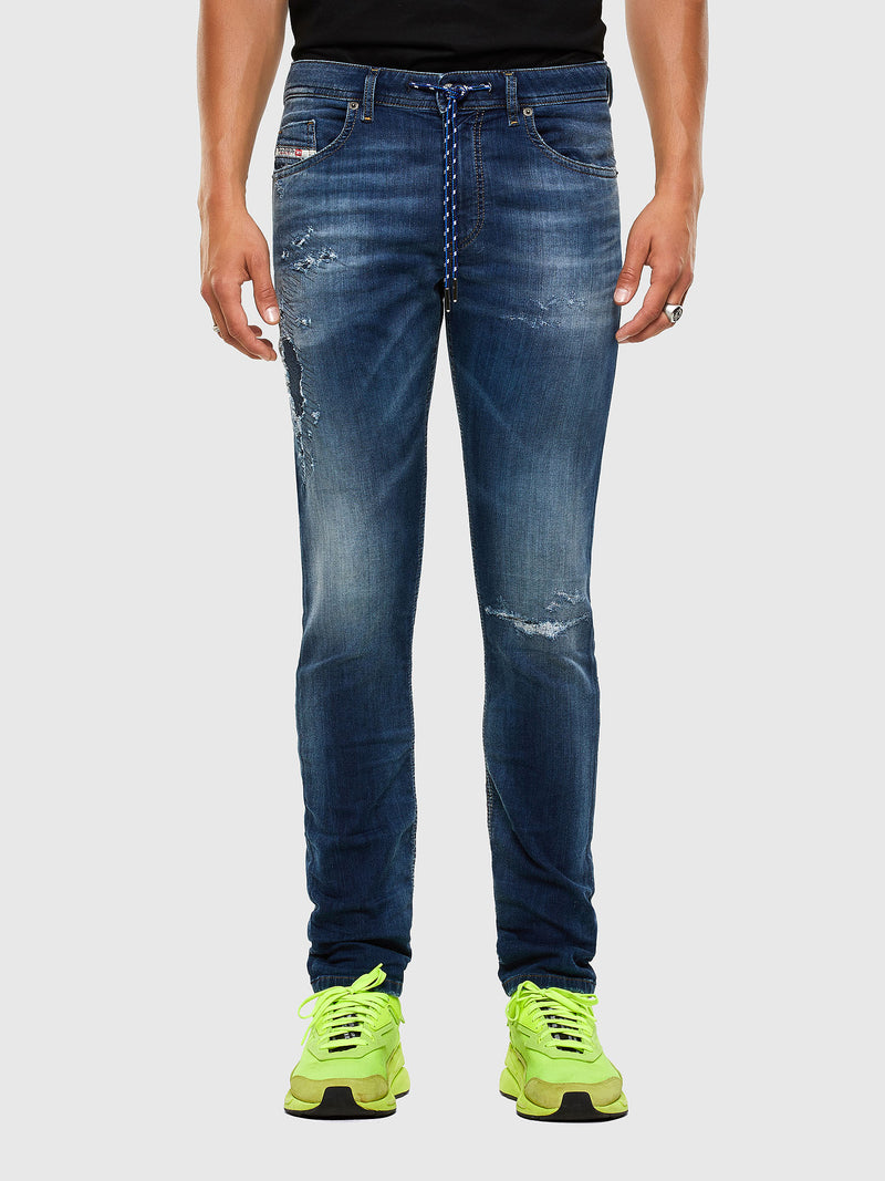Diesel Men's Thommer 069PL Joggjeans Slim dark blue