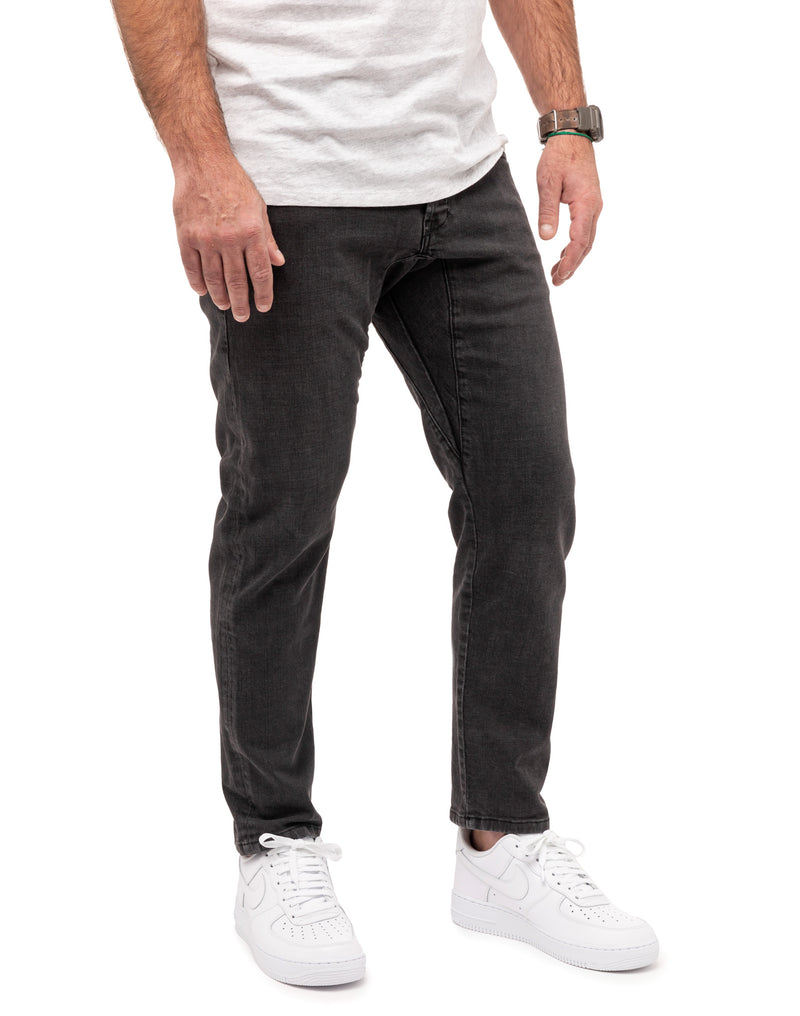 Pullin Men's Dening Joggjeans Off-Black Straight Cut