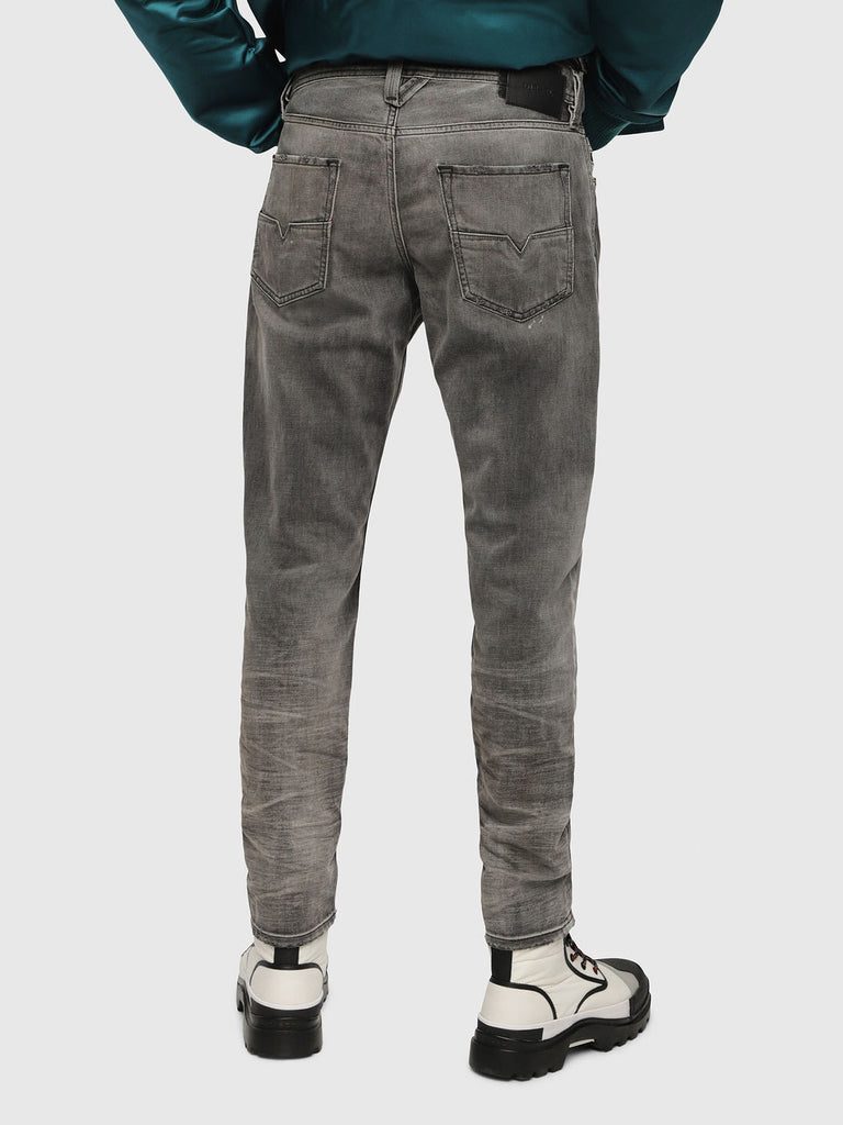 Diesel Men's Jeans LARKEE-BEEX Black Denim Made In Italy