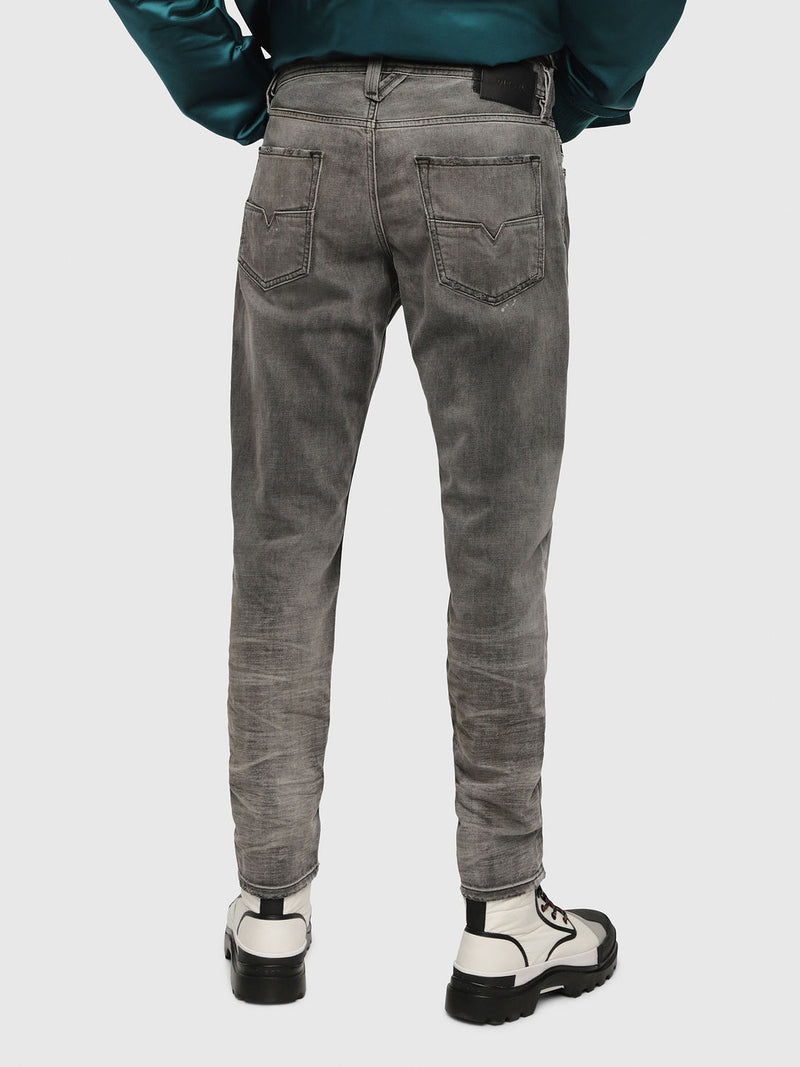 Men's Jeans LARKEE-BEEX Black Denim Made In Italy