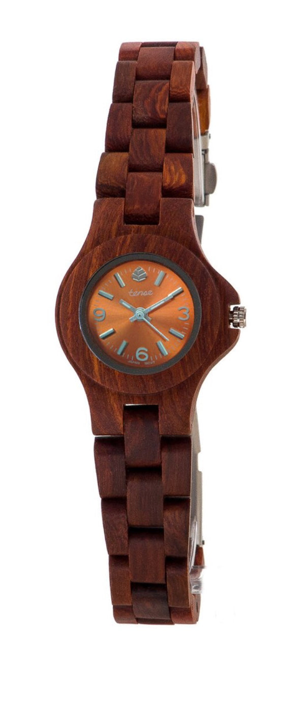 Tense wood watch small northwest KARRI WOOD women's