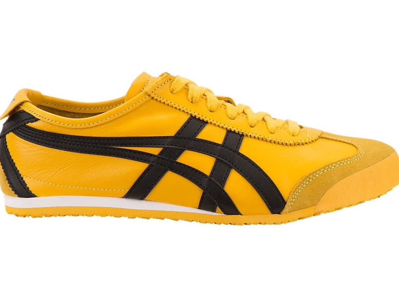 big sale b2c9c 898c7 Asics-Onitsuka Tiger Men's Running Shoes MEXICO 66 Yellow/Black