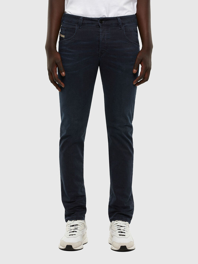 Men's Denim D-Bazer  0699P Tapered Stretch Blue