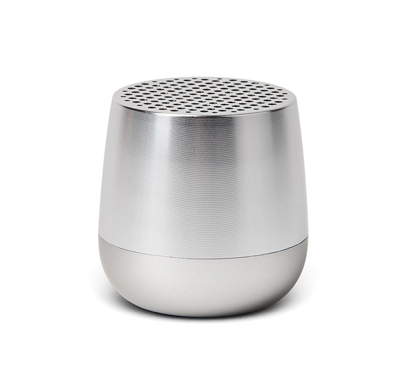 Lexon Mini Speaker Mino Polished Silver 3W Bluetooth portable