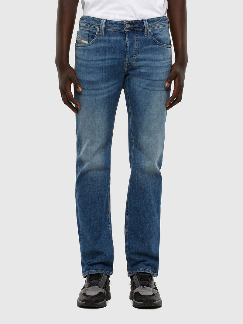 Men's Larkee Straight Stretch Denim Jeans 009DB