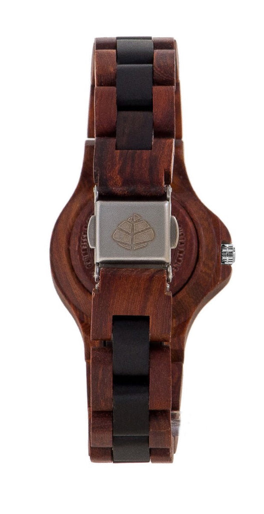 Tense wood watch small northwest karri/black oak women's