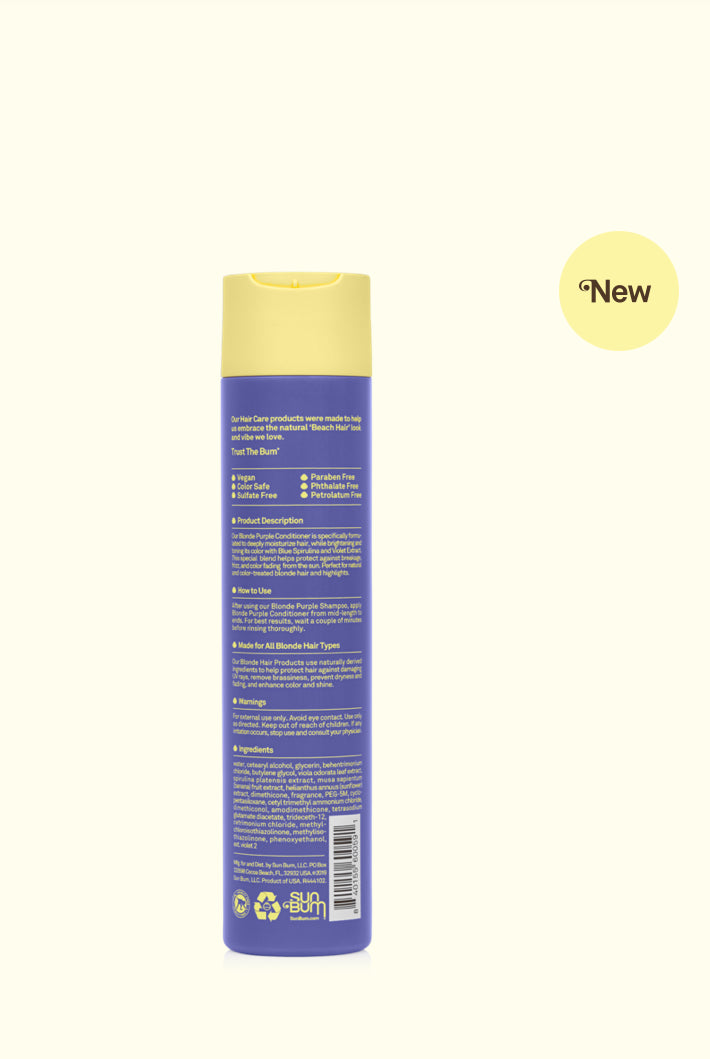 SUN BUM Blonde Purple Conditioner