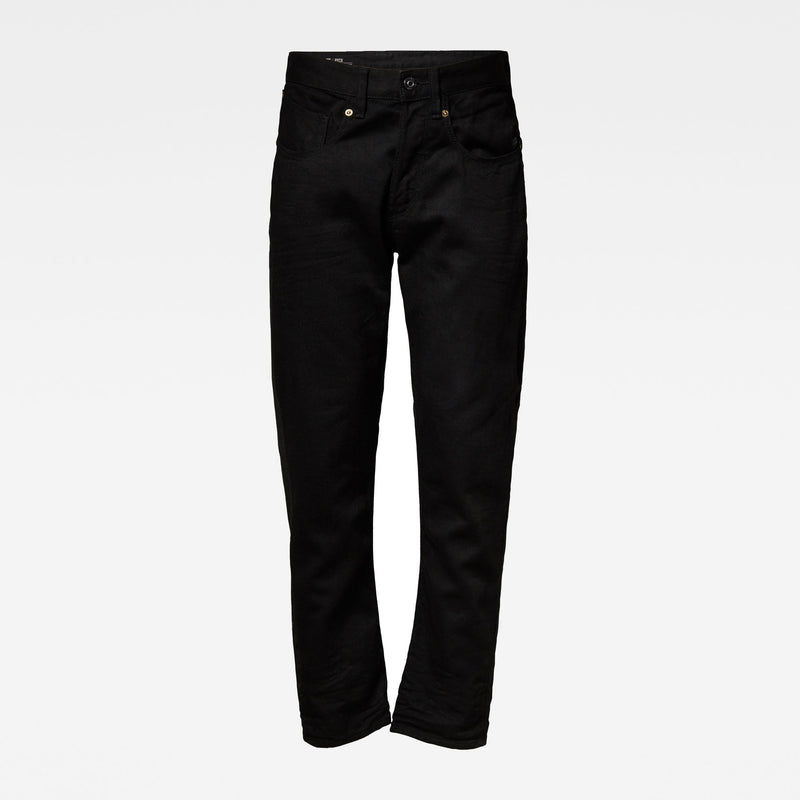 G-Star Raw Men's Denim 5650 3D Straight Tapered 3D pitch Black Sustainable materials