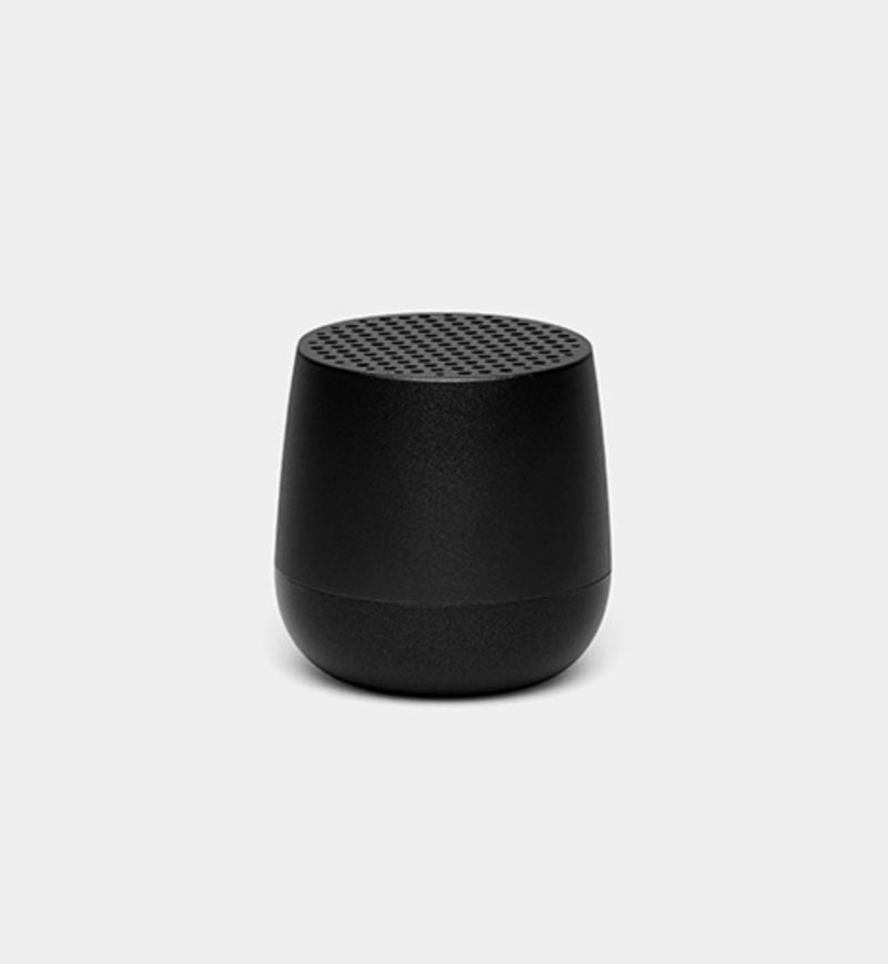 Lexon design Mino + Wireless rechargeable Bluetooth Portable Speaker Black