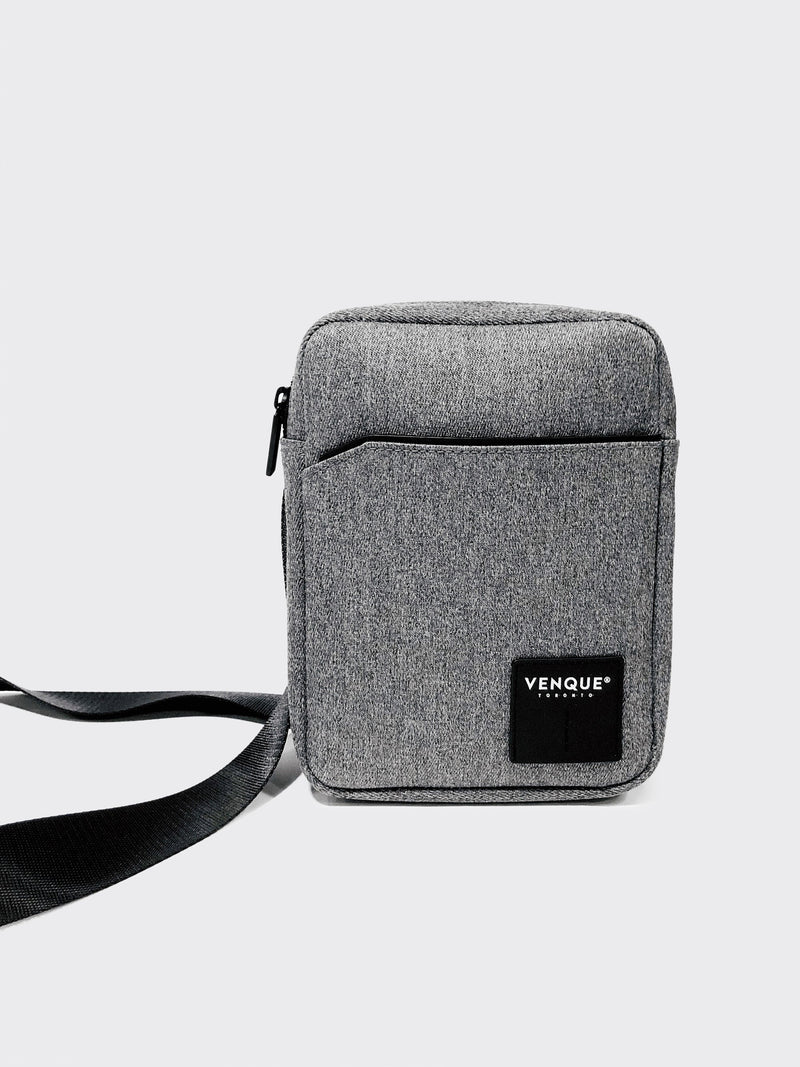 Venque cosmo sling grey unisex shoulder bag