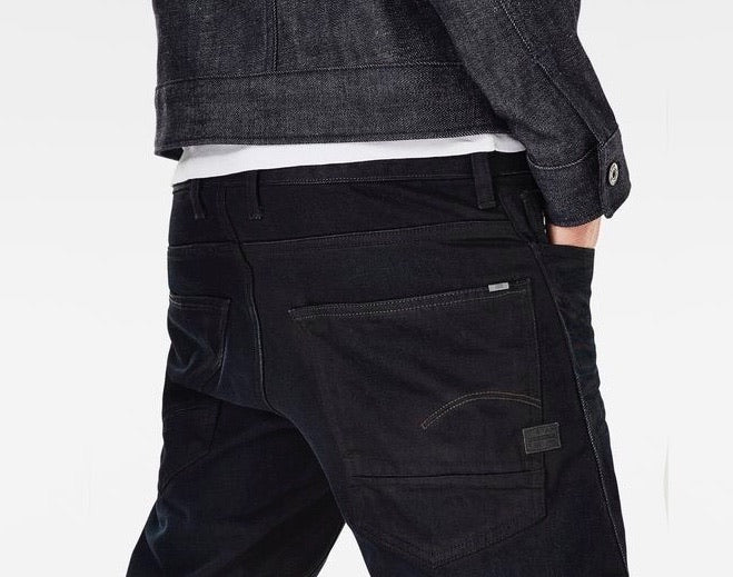 G-Star MOTAC DENIM DECONSTRUCTED 3D Slim Indigo Aged Men's Jeans