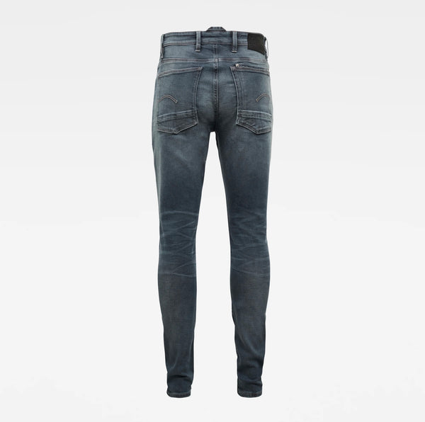 G-Star Raw Men's Denim Lancet Skinny Worn In Smoke Novo Superstretch Jeans Sustainable Materials
