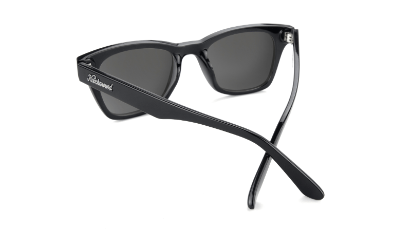 Knockaround Sunglasses Seventy Nines Glossy Black/Snow Opal Polarized