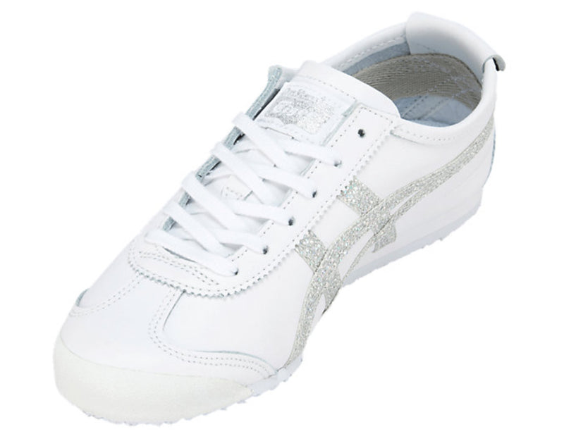 Women's running shoes Mexico 66 white/silver