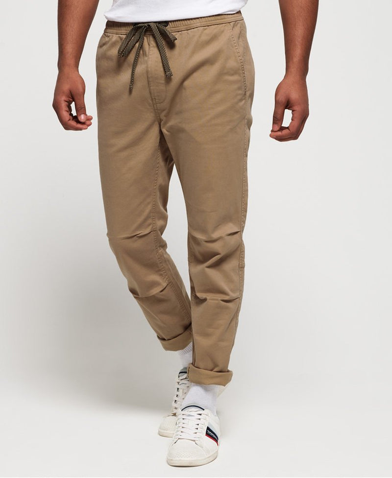 Superdry Men's utility pant beige cargo style