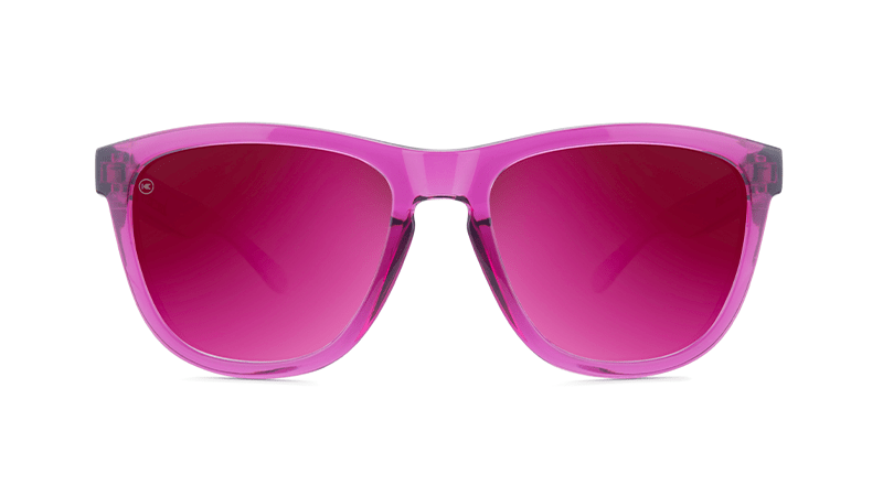 Knockaround Sunglasses Premiums Magenta Monochrome Polarized