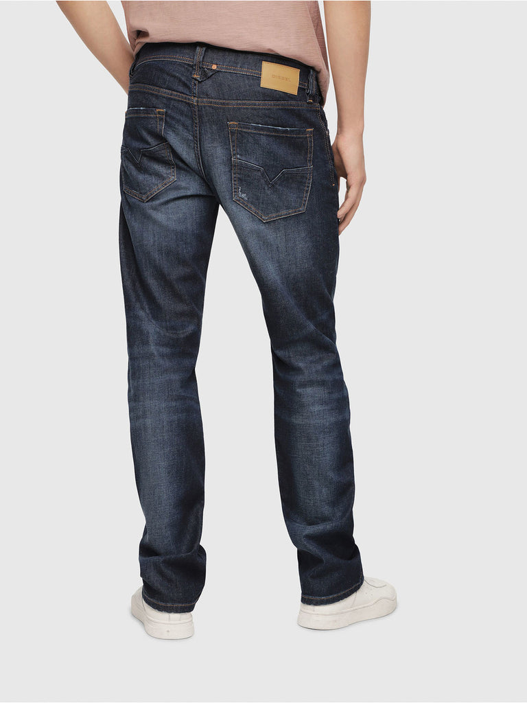 Diesel Men's Denim  LARKEE Medium Blue Trouser Jeans