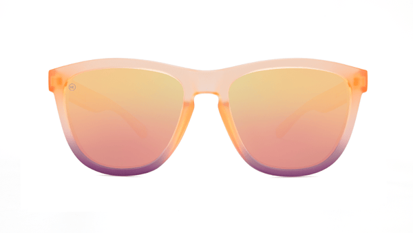 Unisex Sunglasses Premiums FrostedRose Quartz Fade/Rose Polarized