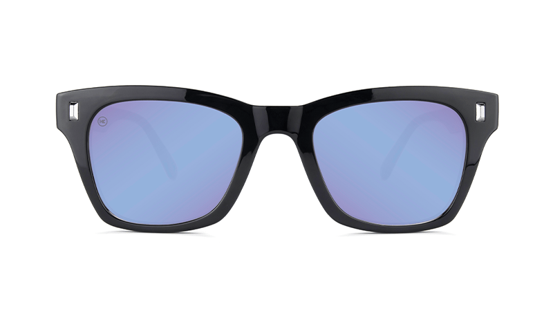Unisex Sunglasses Seventy Nines Glossy Black/Snow Opal Polarized