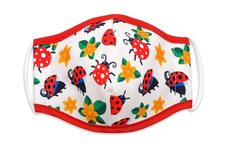 Unisex Face Mask Lady bug one size fits all