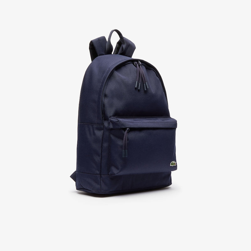 Lacoste Men's Neocroc Classic Solid Backpack Marine Blue